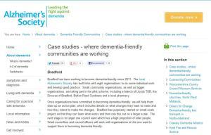 Alzheimer's Society 2012