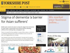Yorkshire Post November 2013